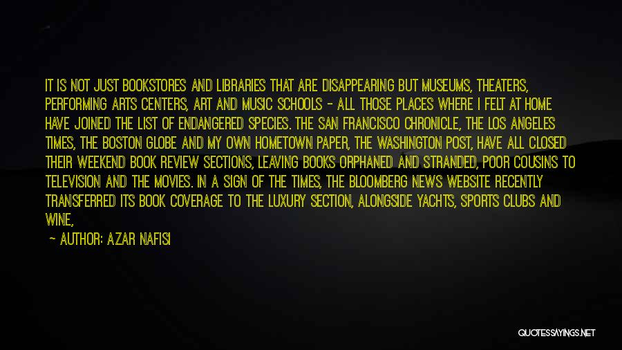 Music In Movies Quotes By Azar Nafisi