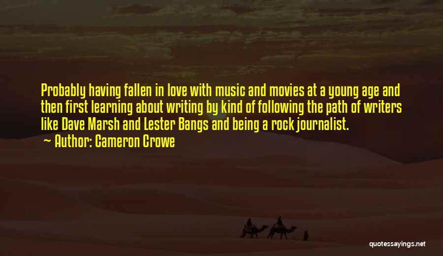 Music In Movies Quotes By Cameron Crowe