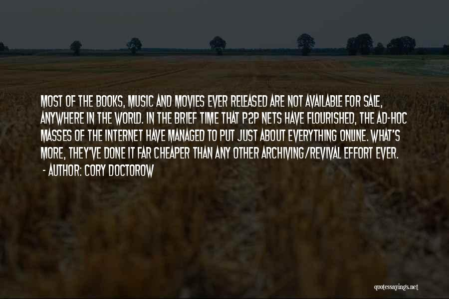 Music In Movies Quotes By Cory Doctorow
