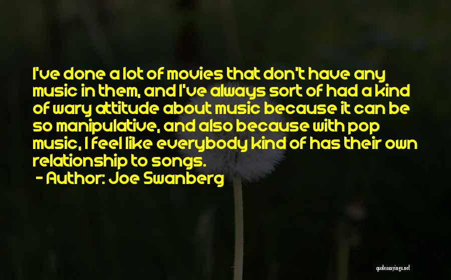 Music In Movies Quotes By Joe Swanberg