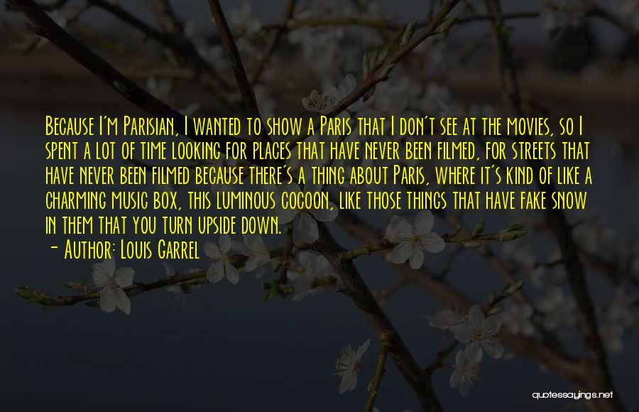 Music In Movies Quotes By Louis Garrel