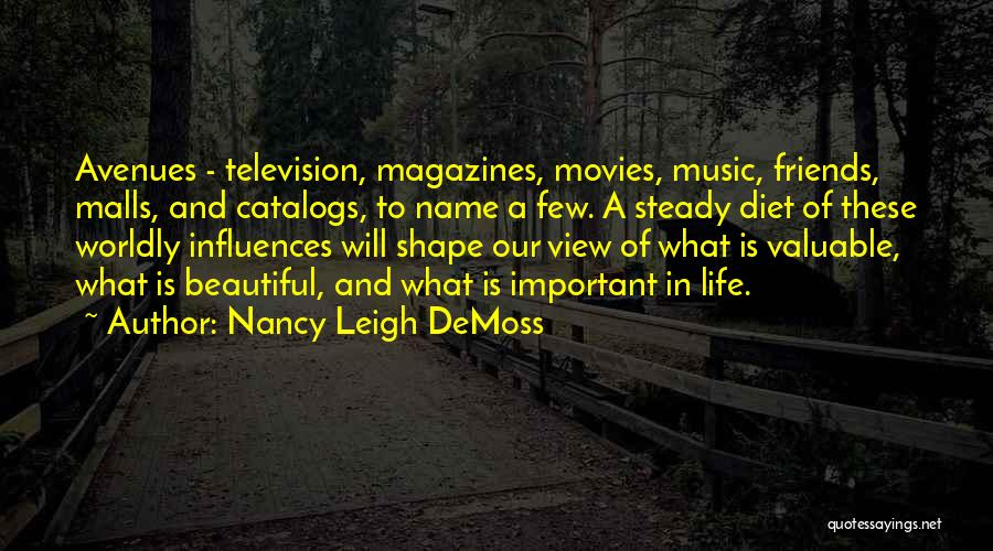 Music In Movies Quotes By Nancy Leigh DeMoss