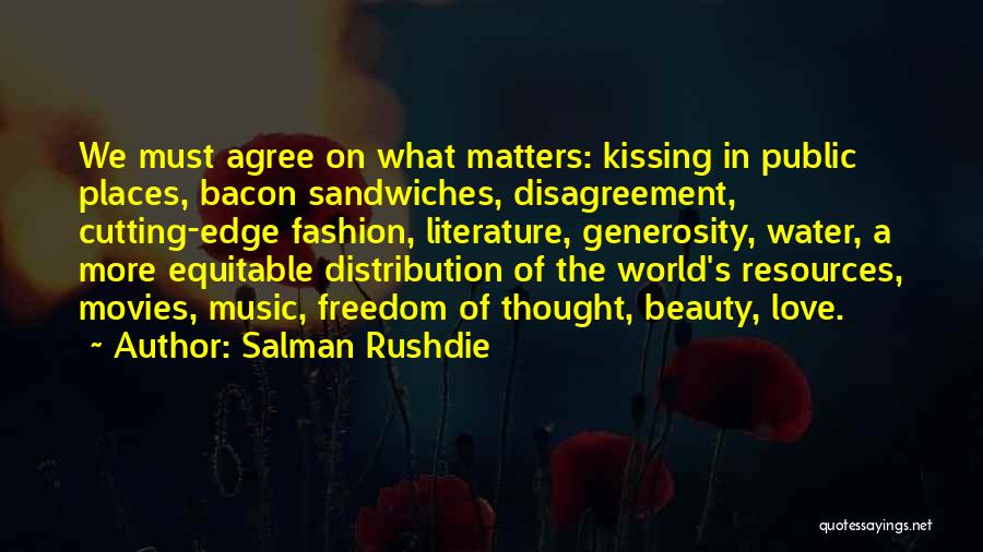 Music In Movies Quotes By Salman Rushdie