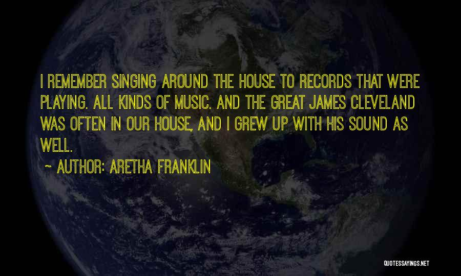 Music Records Quotes By Aretha Franklin