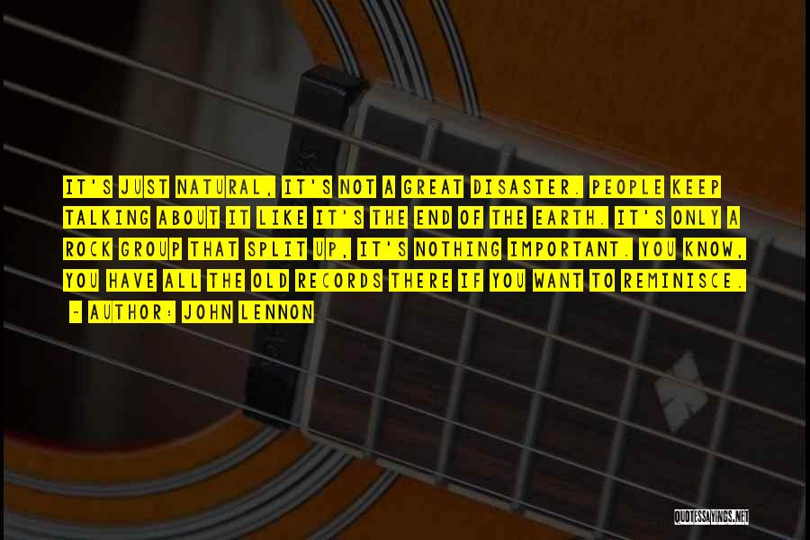 Music Records Quotes By John Lennon