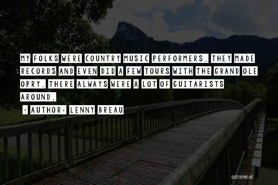 Music Records Quotes By Lenny Breau