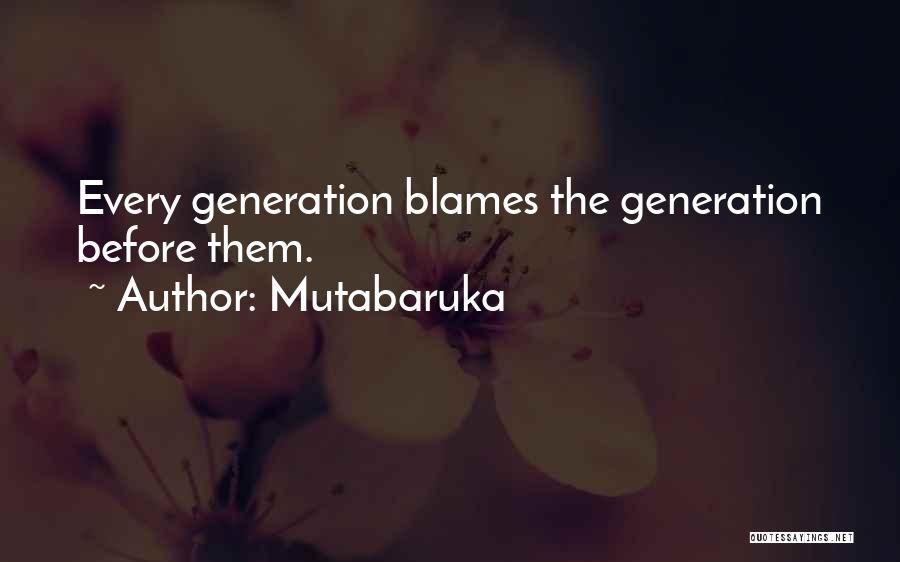 Mutabaruka Quotes 1113936