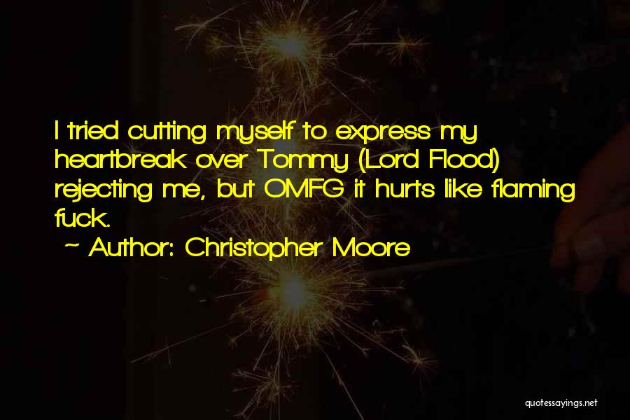 Mutilation Quotes By Christopher Moore
