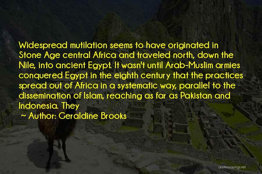 Mutilation Quotes By Geraldine Brooks