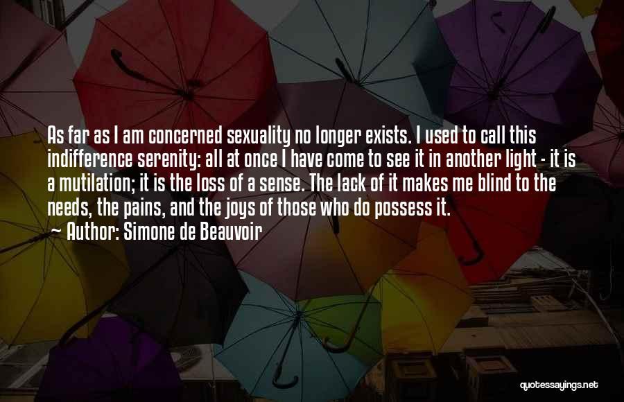 Mutilation Quotes By Simone De Beauvoir