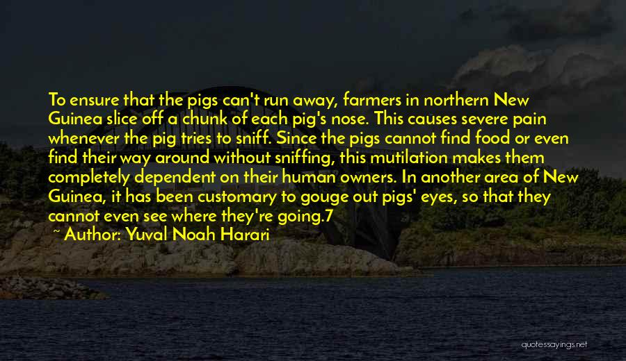 Mutilation Quotes By Yuval Noah Harari