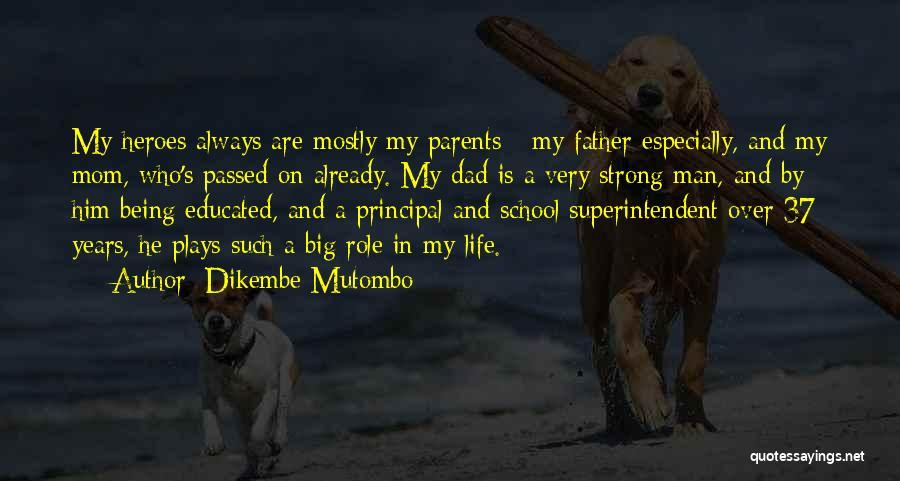 Mutombo Quotes By Dikembe Mutombo