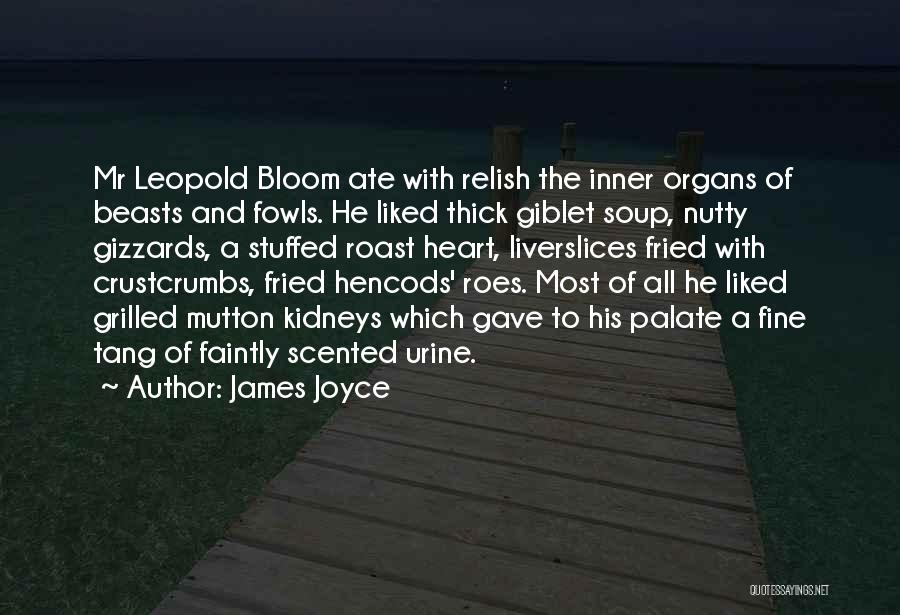 Mutton Food Quotes By James Joyce