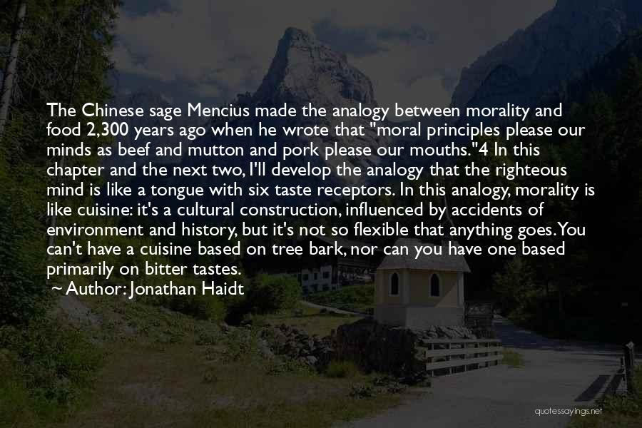 Mutton Food Quotes By Jonathan Haidt