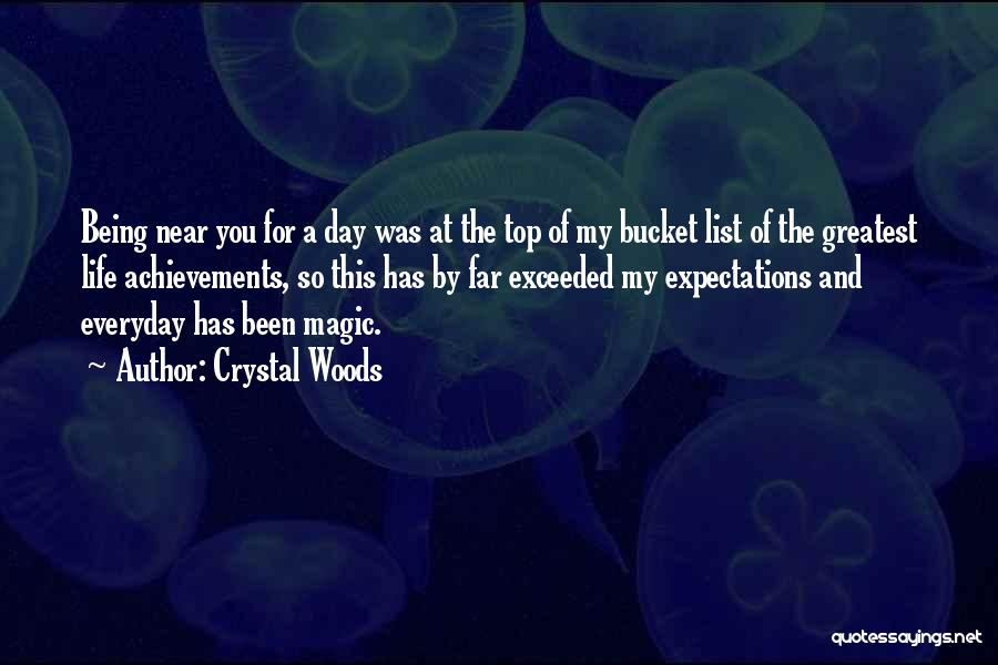 My Achievements Quotes By Crystal Woods