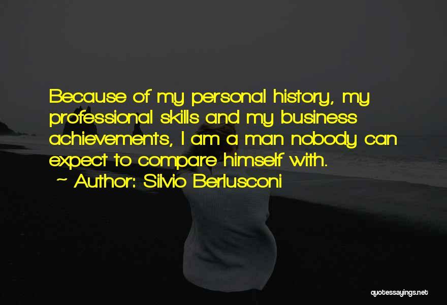 My Achievements Quotes By Silvio Berlusconi