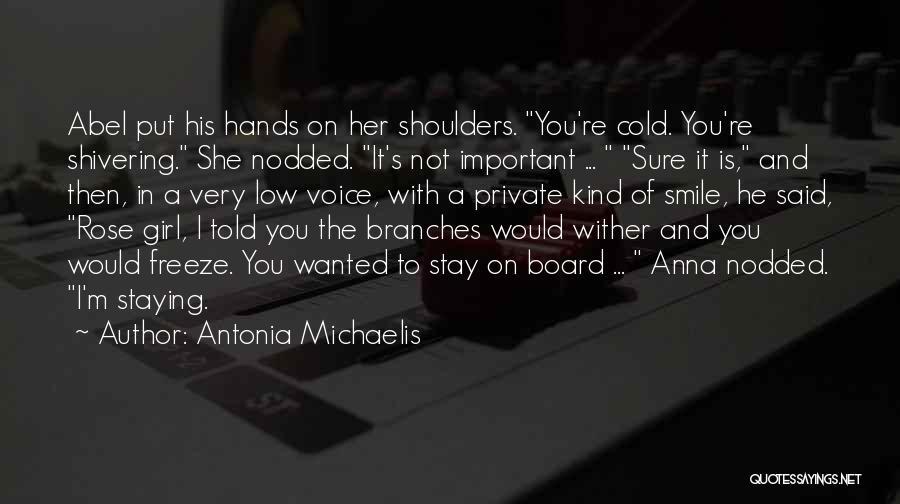 My Antonia Important Quotes By Antonia Michaelis