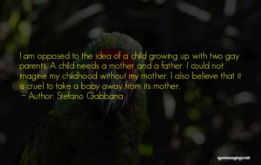 My Baby Father Quotes By Stefano Gabbana