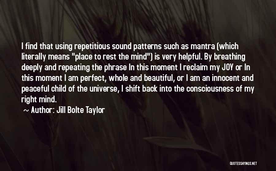 My Beautiful Child Quotes By Jill Bolte Taylor