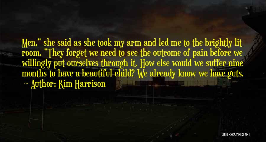 My Beautiful Child Quotes By Kim Harrison