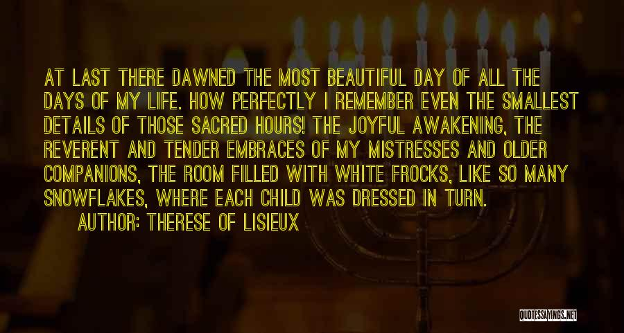 My Beautiful Child Quotes By Therese Of Lisieux