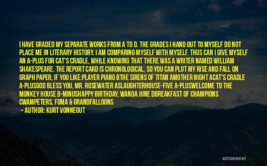 My Birthday Mother Quotes By Kurt Vonnegut