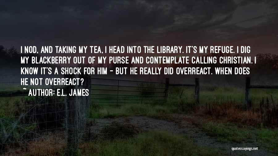 My Blackberry Quotes By E.L. James