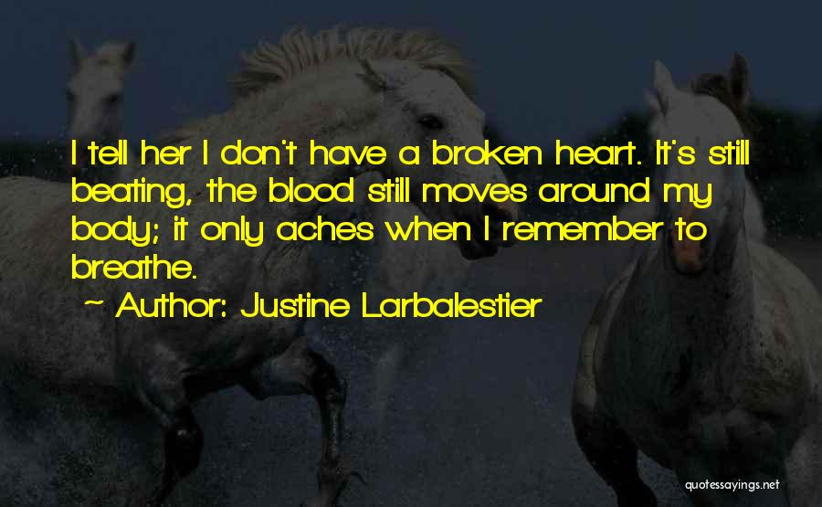 My Body Aches For You Quotes By Justine Larbalestier