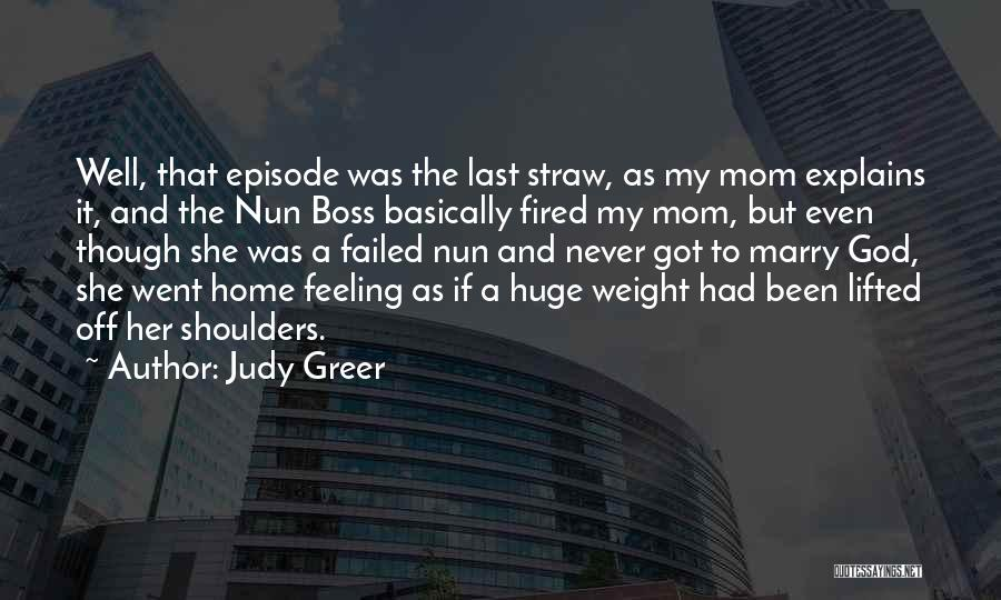 My Boss Quotes By Judy Greer