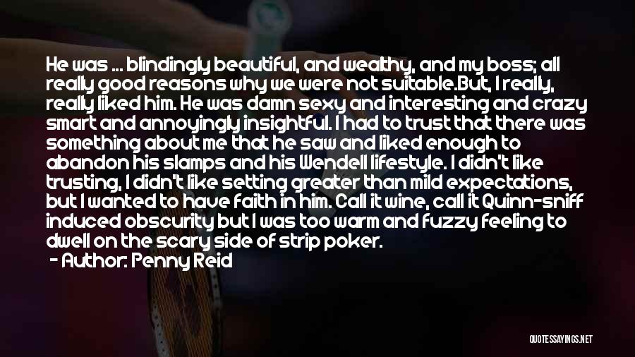 My Boss Quotes By Penny Reid