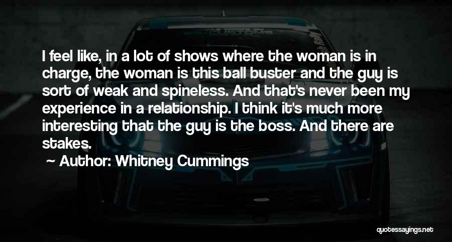 My Boss Quotes By Whitney Cummings