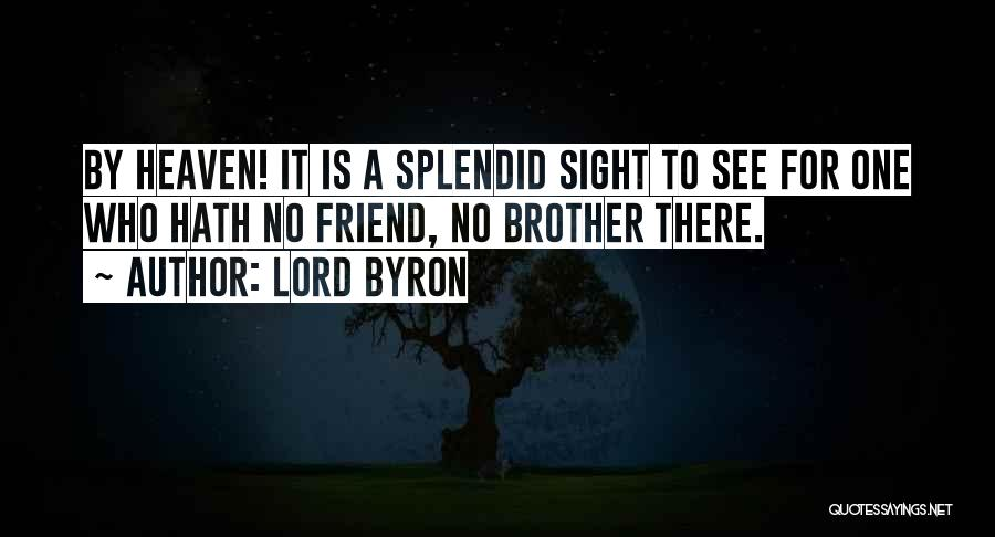 Top 63 Quotes & Sayings About My Brother In Heaven