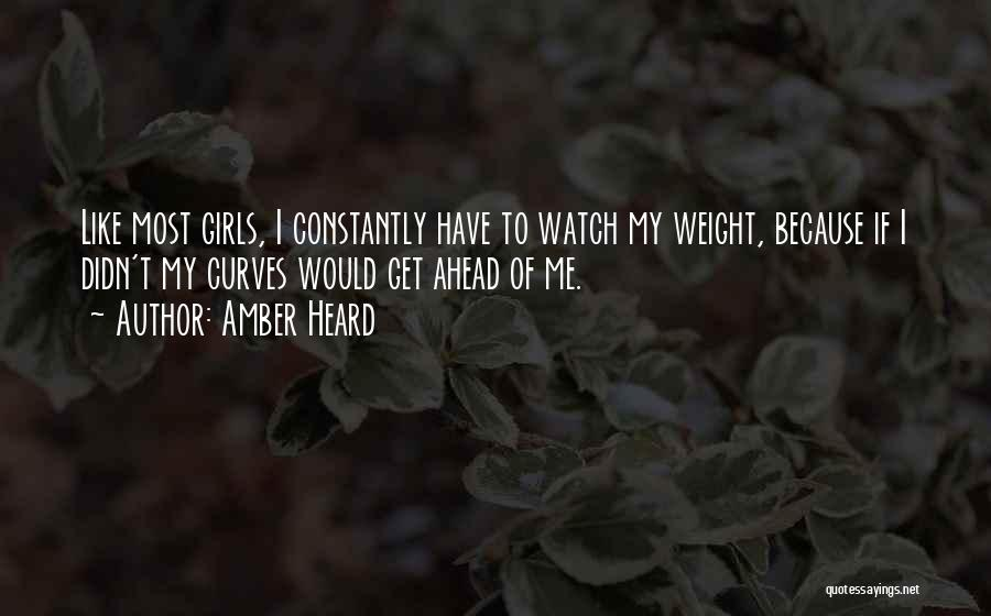 My Curves Quotes By Amber Heard