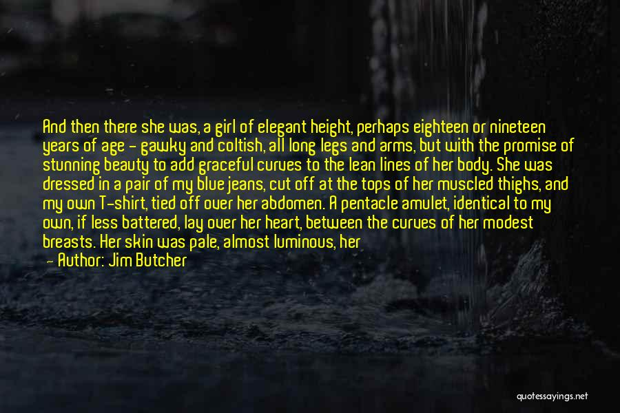 My Curves Quotes By Jim Butcher