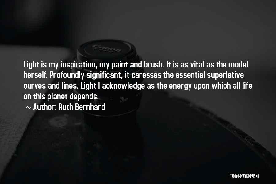 My Curves Quotes By Ruth Bernhard