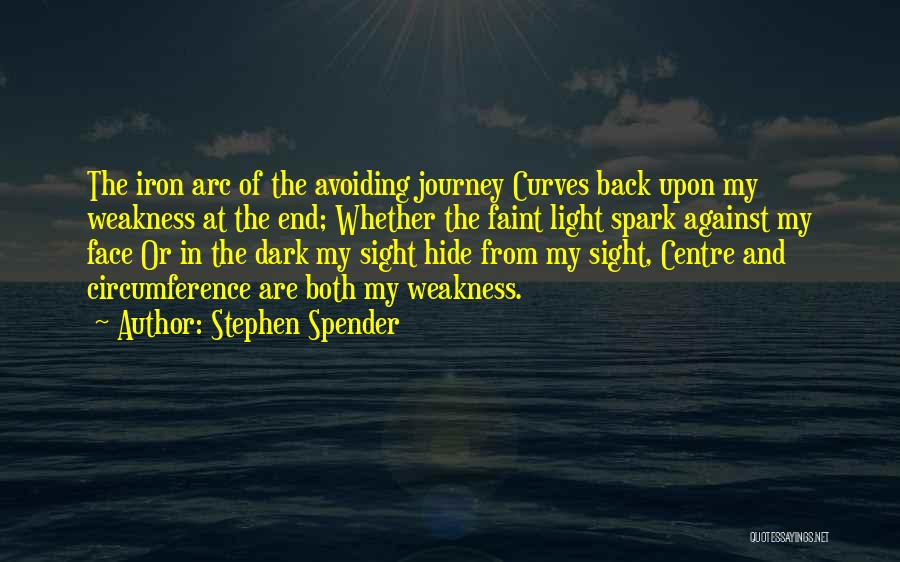 My Curves Quotes By Stephen Spender