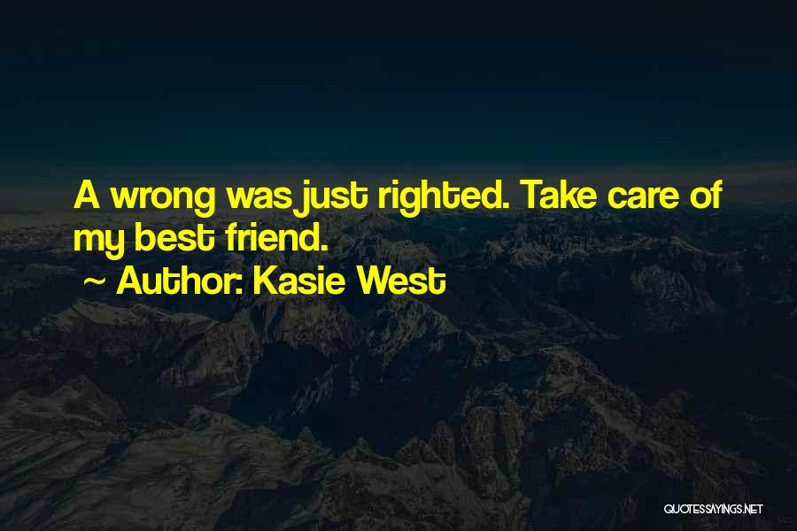 My Cute Friend Quotes By Kasie West