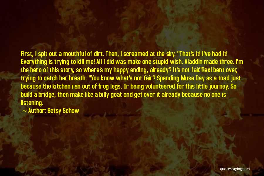 My Day Is Over Quotes By Betsy Schow