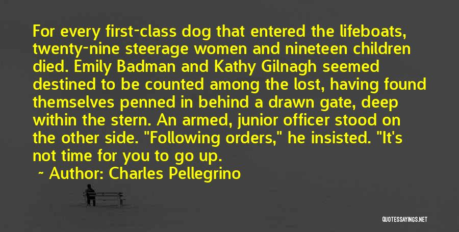 My Dog That Died Quotes By Charles Pellegrino