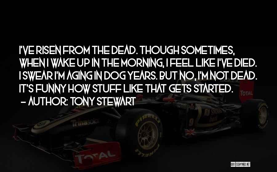 My Dog That Died Quotes By Tony Stewart