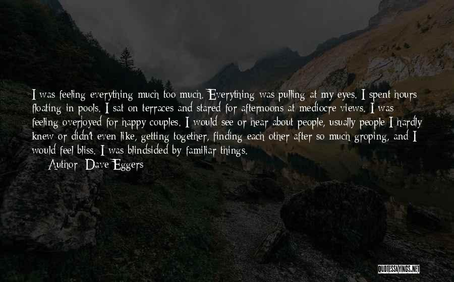 My Eyes See Everything Quotes By Dave Eggers