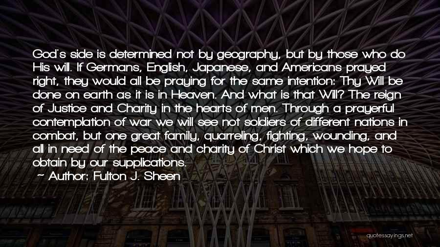 My Family My Heaven Quotes By Fulton J. Sheen