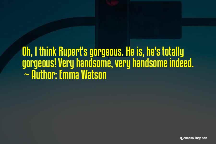 My Gorgeous Boyfriend Quotes By Emma Watson