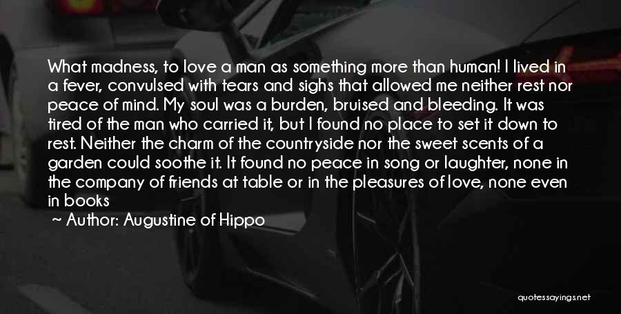 My Heart Is Bleeding Quotes By Augustine Of Hippo