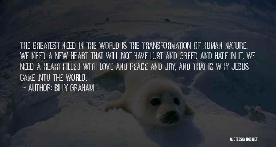 My Heart Is Filled With Joy Quotes By Billy Graham