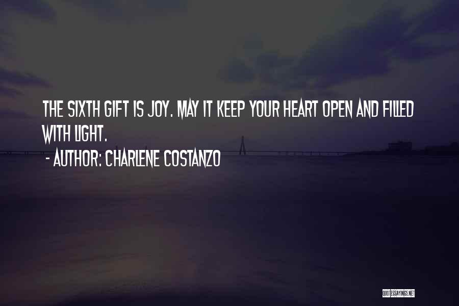My Heart Is Filled With Joy Quotes By Charlene Costanzo
