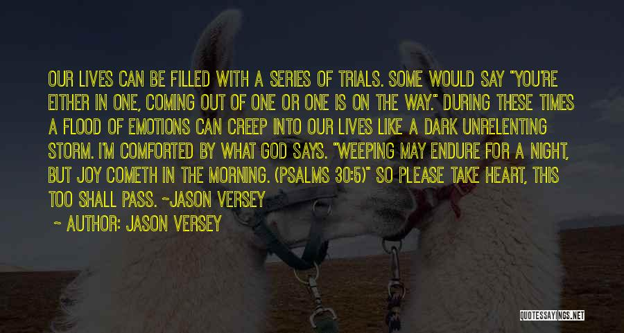 My Heart Is Filled With Joy Quotes By Jason Versey