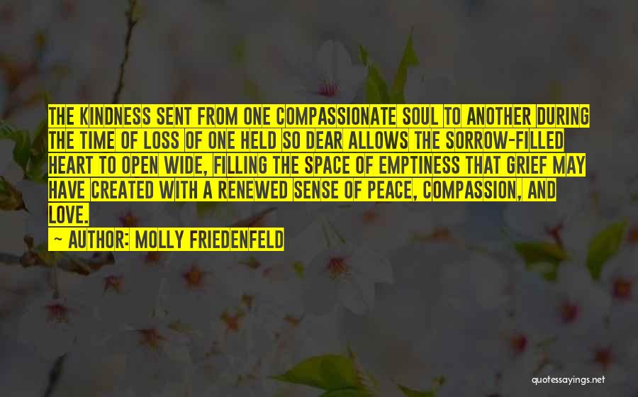 My Heart Is Filled With Joy Quotes By Molly Friedenfeld