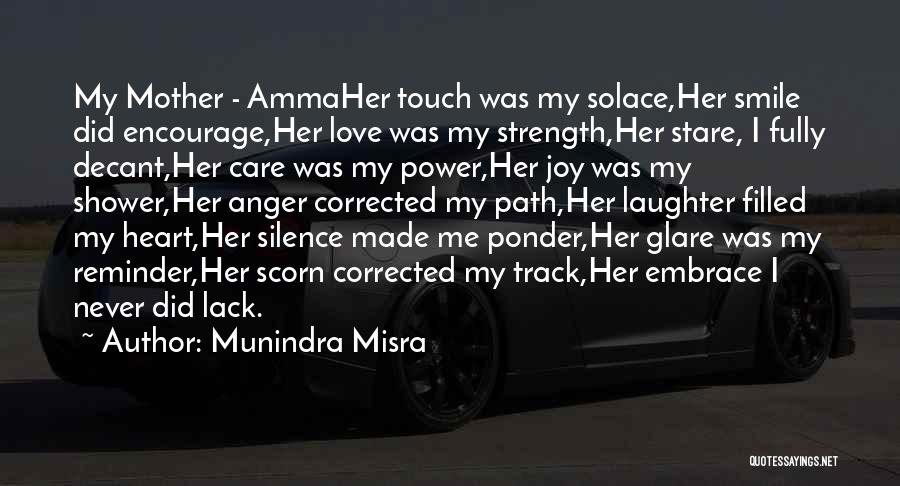 My Heart Is Filled With Joy Quotes By Munindra Misra