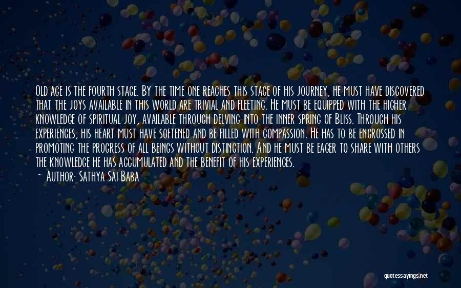 My Heart Is Filled With Joy Quotes By Sathya Sai Baba